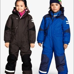 H&M toddler boy blue ski snow suit